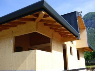 casa prefabbricata in legno Comune di Tolmezzo