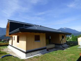casa prefabbricata in legno Comune di Tolmezzo - realizzata dalla BDM LEGNAMI