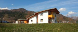 casa prefabbricata in legno - vista generale