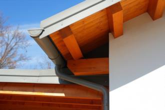 particolare tetto in legno - realizzato dalla BDM LEGNAMI