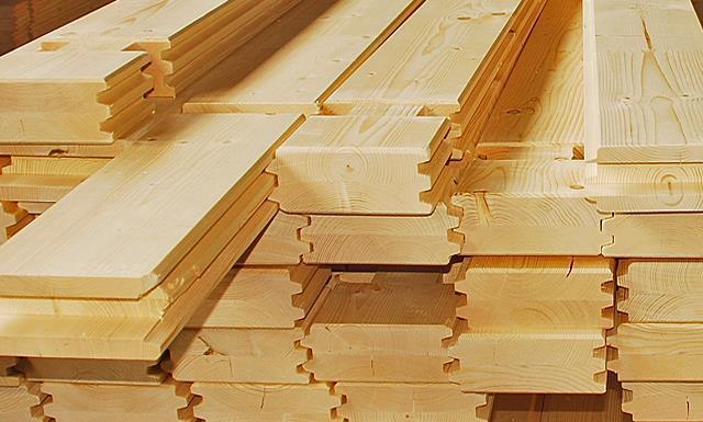 Case realizzate con legnami certificati
